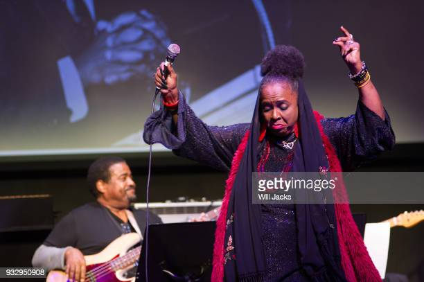 Betty Wright performs at GRAMMY Museum Mississippi on March 16 2018 in Cleveland Mississippi