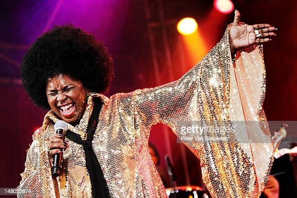 Betty Wright performs on stage during North Sea Jazz Festival at Ahoy on July 7 2012 in Rotterdam Netherlands