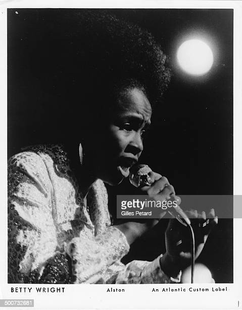 Betty Wright performs on stage USA 1975