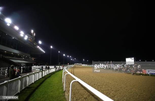 Betway Conditions Stakes at Wolverhampton Racecourse on January 18, 2021 in Wolverhampton, England.