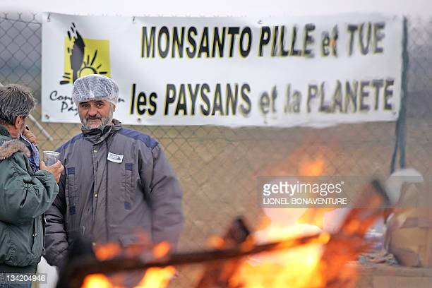 Between 100 and 150 militants of the antiglobalization organization ATTAC of the French agricultural union Modef of the French Revolutionary...