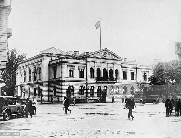 Between 1921 And 1930 The Royal Palace Of Bucharest Became The New Residence Of King Carol Ii Of Romania