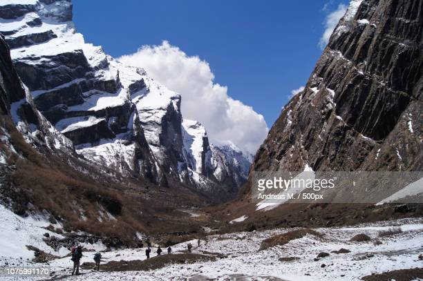 Between Annapurna South and Machapuchare