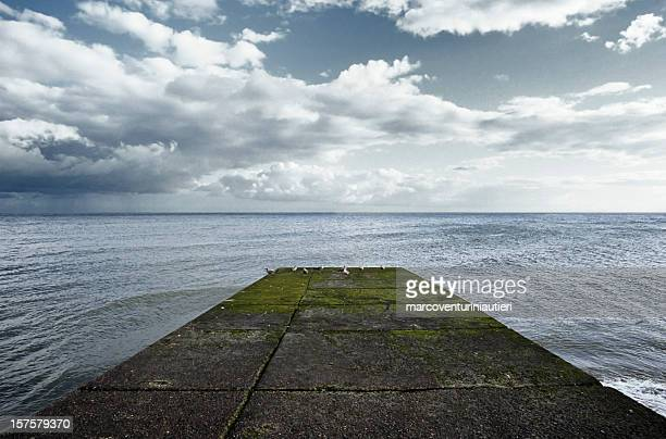 between earth and sky - trapezoid stock pictures, royalty-free photos & images