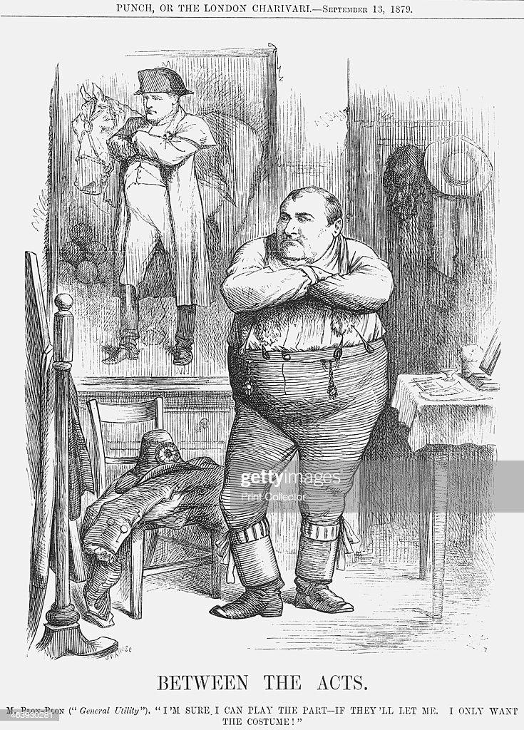 Between The Acts 1879 This Cartoon Depicts Prince Jerome Napoleon Cousin