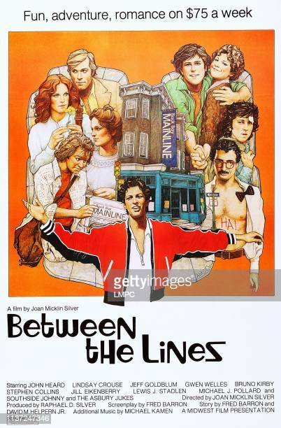 Between The Lines poster US poster art John Heard Lindsay Crouse Jeff Goldblum 1977