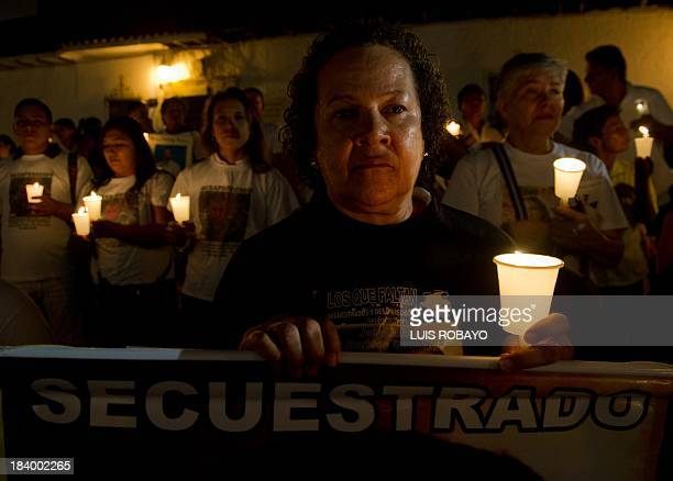 Bety Gonzales relative of Jairo Alfredo Hurtado Gonzales missing since May 13 2003 and according to his family kidnapped by members of the...