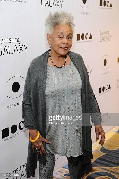 Betye Saar attends 8th MOCA Award To Distinguished Women In The Arts Honoring Lita Albuquerque Helen Pashgian Nancy Rubins And Betye Saar at the...