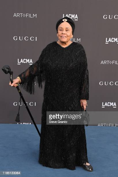 Betye Saar attends the 2019 LACMA 2019 Art Film Gala Presented By Gucci at LACMA on November 02 2019 in Los Angeles California