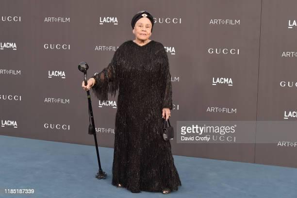 Betye Saar attends the 2019 LACMA Art Film Gala at LACMA on November 02 2019 in Los Angeles California