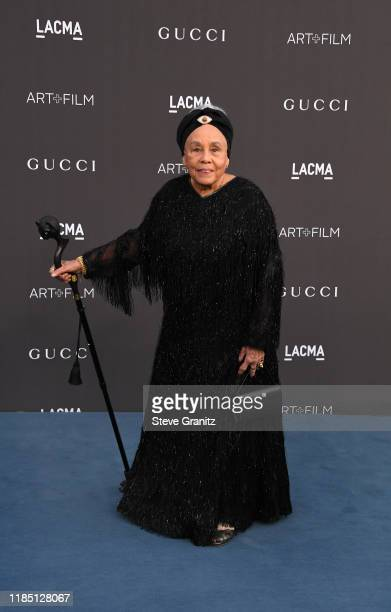 Betye Saar attends the 2019 LACMA Art Film Gala Presented By Gucci at LACMA on November 02 2019 in Los Angeles California
