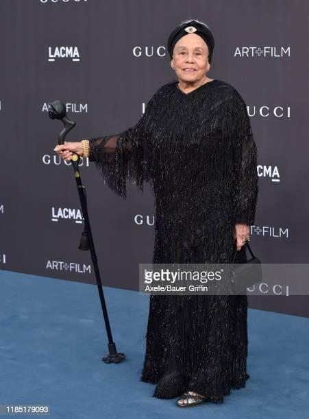 Betye Saar attends the 2019 LACMA Art Film Gala Presented By Gucci on November 02 2019 in Los Angeles California