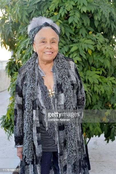Betye Saar attends The J Paul Getty Medal Dinner 2019 at The Getty Center on September 16 2019 in Los Angeles California