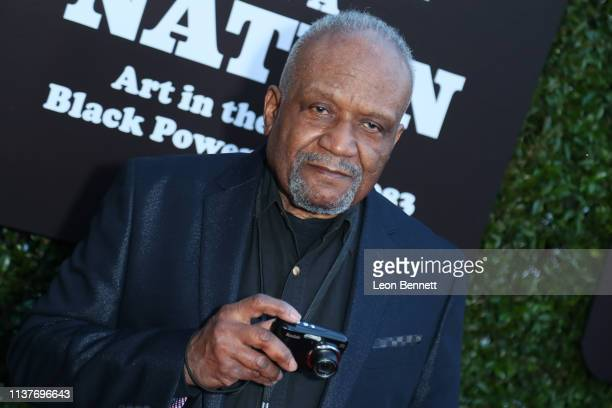 Beuford Smith attends The Broad Hosts West Coast Debut Of 'Soul Of A Nation Art In the Age Of Black Power 19631983' at The Broad on March 22 2019 in...