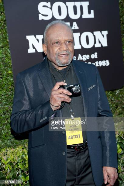 Beuford Smith attends The Broad Museum celebration for the opening of Soul Of A Nation Art in the Age of Black Power 19631983 Art Exhibition at The...