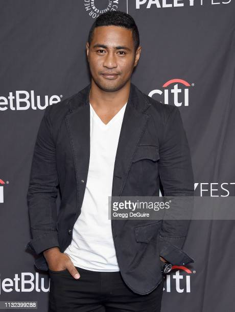 Beulah Koale attends The Paley Center For Media's 2019 PaleyFest LA 'Hawaii Five0' 'MacGyver' And 'Magnum PI' at Dolby Theatre on March 23 2019 in...