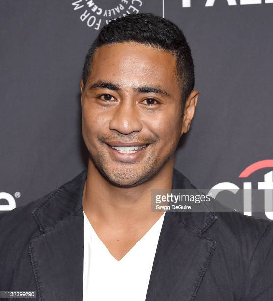 Beulah Koale attends The Paley Center For Media's 2019 PaleyFest LA Hawaii Five0 MacGyver And Magnum PI at Dolby Theatre on March 23 2019 in...