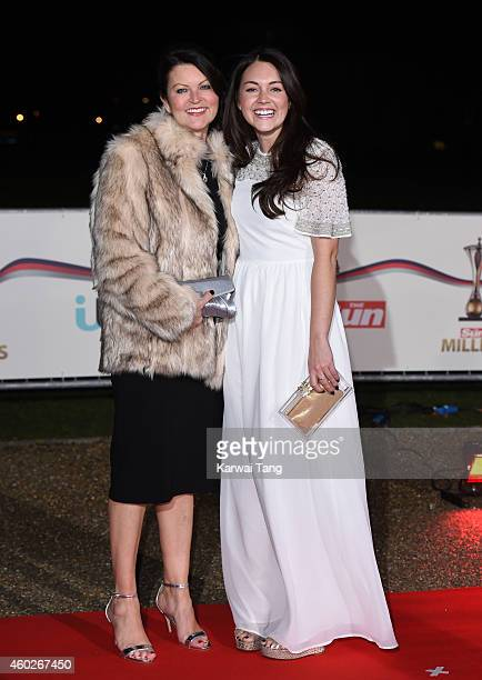 Bev Turner and Lacey Turner attend A Night Of Heroes The Sun Military Awards at National Maritime Museum on December 10 2014 in London England