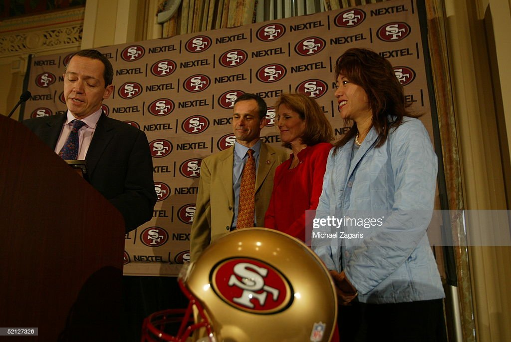 Mike Nolan Named As San Francisco 49ers Head Coach : News Photo