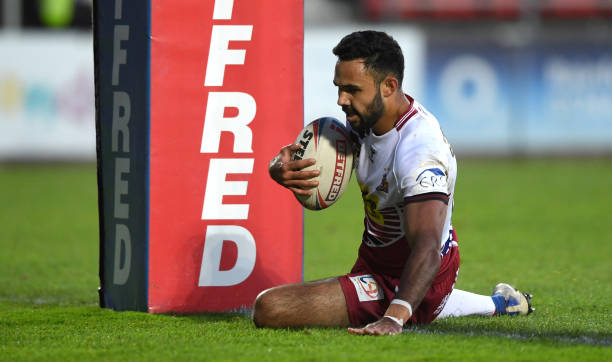 GBR: Wigan Warriors v Salford Red Devils - Betfred Super League
