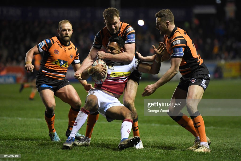 Castleford Tigers v Wigan Warriors - Betfred Super League : News Photo