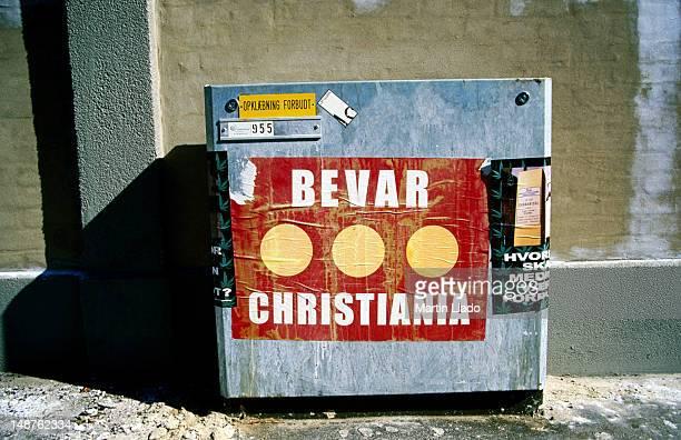 'Bevar Christiania' poster.