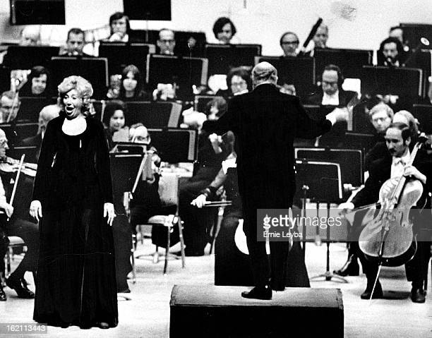 FEB 6 1974 FEB 7 1974 Bevelry Sills Sings Una voce poco fa from Giocchino Rossini's The Barber of Seville As Brian Priestman conducts the Denver...