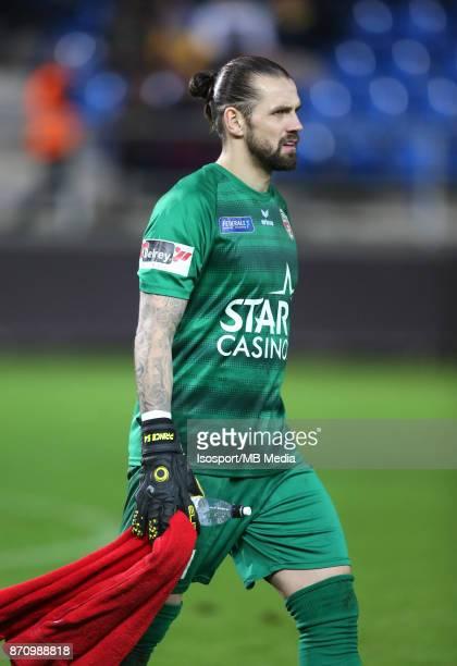 20171104 Beveren Belgium / WaaslandBeveren v Excel Mouscron / 'nLogan BAILLY'nFootball Jupiler Pro League 2017 2018 Matchday 14 / 'nPicture by...