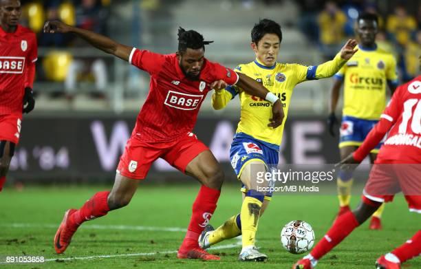 20171208 Beveren Belgium / WaaslandBeveren v Standard de Liege / 'nChristian LUYINDAMA Ryota MORIOKA'nFootball Jupiler Pro League 2017 2018 Matchday...