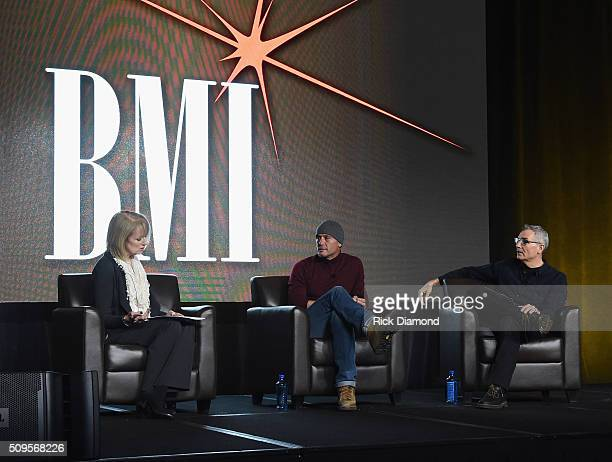 Beverlee Brannigan Singer/Songwriter Tim McGraw and RJ Curtis attend CRS 2016 Day 3 at The Omni Hotel on February 10 2016 in Nashville Tennessee