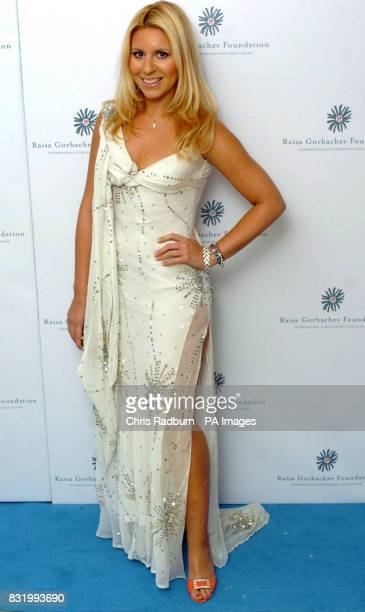 Beverley Blooms arrives at the Raisa Gorbachev Foundation Russian Ball at Althorp House Northamptonshire PRESS ASSOCIATION Photo Picture date...