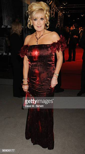 Beverley Callard arrives at the National Television Awards at the O2 Arena on January 20 2010 in London England