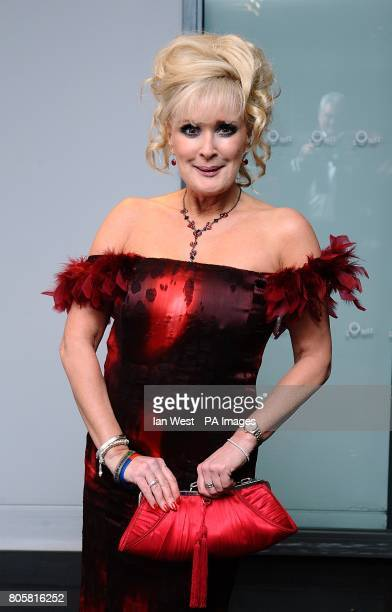 Beverley Callard arriving for the National Television Awards 2010 at the 02 Arena London