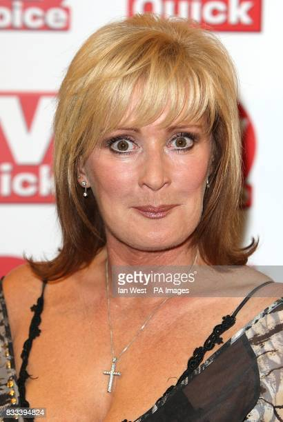 Beverley Callard arriving for the TV Quick and TV Choice awards at The Dorchester London
