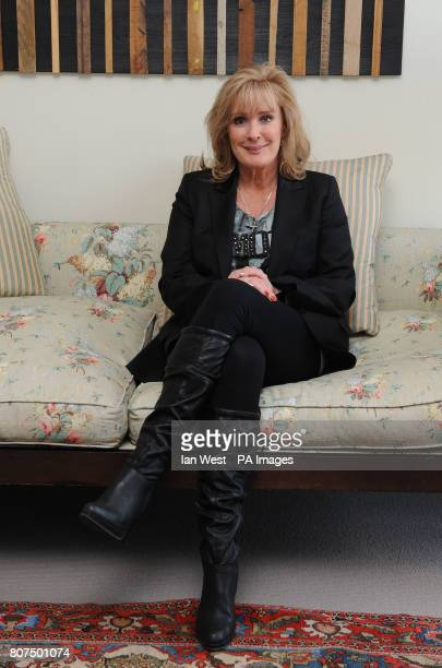 Beverley Callard launches her autobiography Unbroken at the Soho Hotel in London
