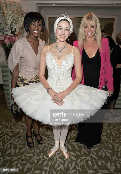 Beverley Knight and Jo Wood attend the English National Ballet's Summer Party at The Dorchester on June 15 2010 in London England
