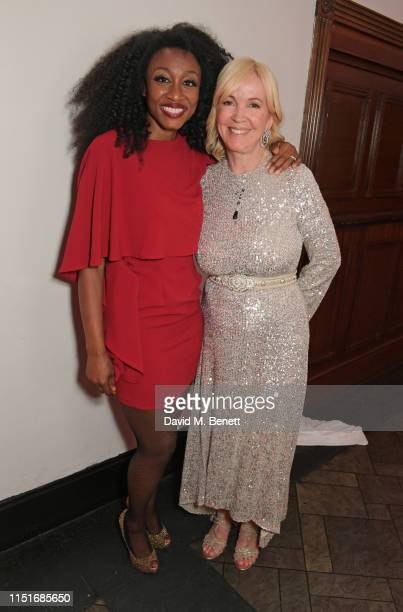 Beverley Knight and Sally Greene attend the Midsummer Party for The Old Vic at The Brewery on June 23 2019 in London England