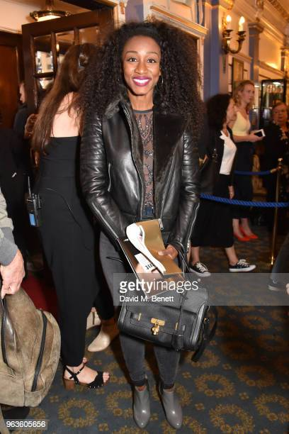 Beverley Knight arrives at the press night performance of 'Consent' at the Harold Pinter Theatre on May 29 2018 in London England