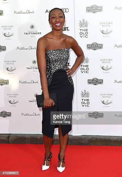 Beverley Knight attends A Gala Celebration in honour of Kevin Spacey at The Old Vic Theatre on April 19 2015 in London England