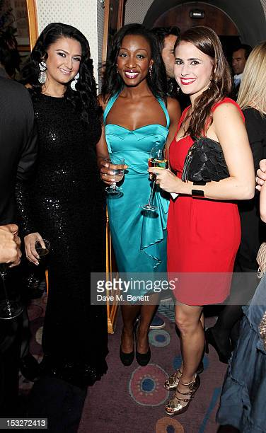 Beverley Knight attends Ben Caring's birthday party at Annabel's on October 2 2012 in London England