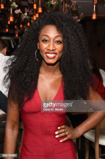 Beverley Knight attends Beverley Knight's birthday party at The May Fair Hotel on March 22 2018 in London England