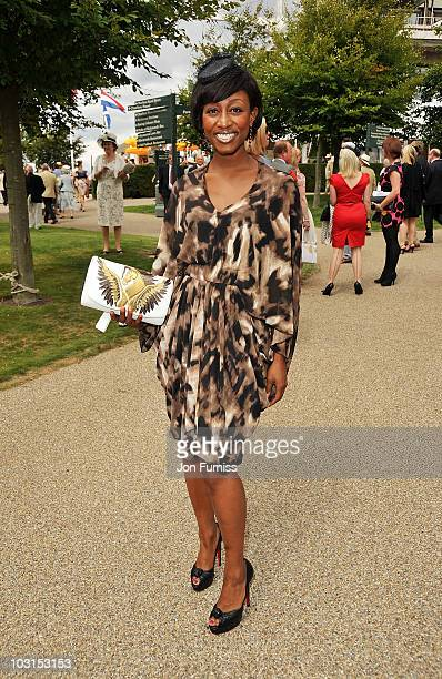 Beverley Knight attends Ladies Day at the Glorious Goodwood Festival at Goodwood on July 29 2010 in Chichester England