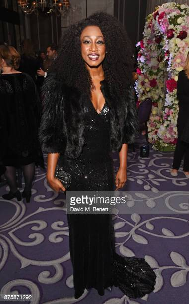 Beverley Knight attends the 8th Global Gift Gala London in aid of Great Ormond Street Hospital Children's Charity at Corinthia Hotel London on...