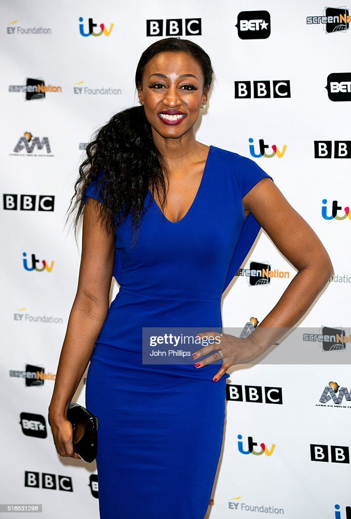 Beverley Knight attends the annual Screen Nation Film & Television Awards Hilton London Metropole on March 19, 2016 in London, England.