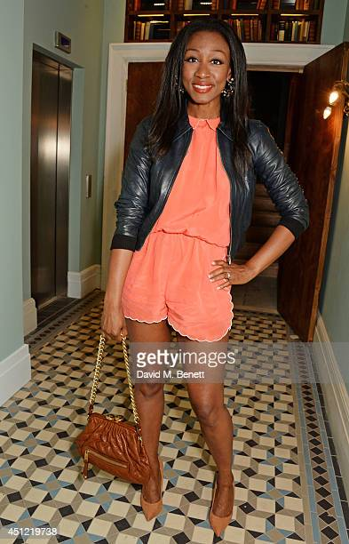 Beverley Knight attends the grand opening of LIBRARY on June 25 2014 in London England