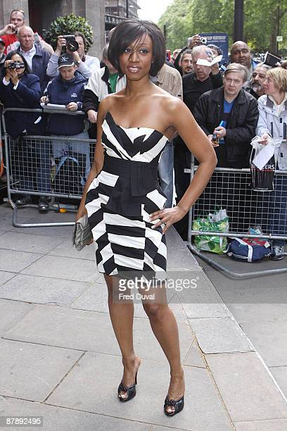 Beverley Knight attends the Ivor Novello Awards at Grosvenor House on May 21 2009 in London England