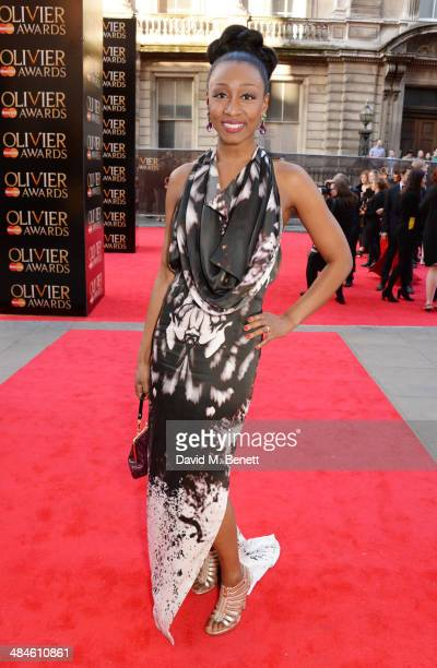 Beverley Knight attends the Laurence Olivier Awards at The Royal Opera House on April 13 2014 in London England