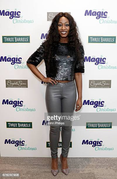 Beverley Knight attends The Magic of Christmas at London Palladium on November 27 2016 in London England