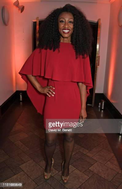 Beverley Knight attends the Midsummer Party for The Old Vic at The Brewery on June 23 2019 in London England