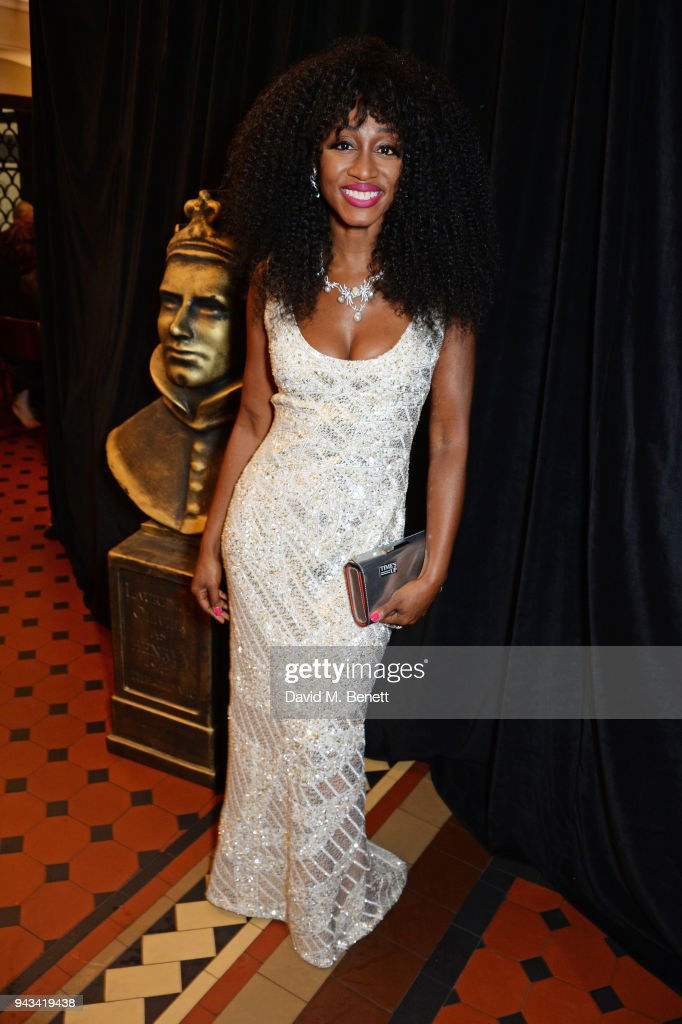 Beverley Knight attends The Olivier Awards with Mastercard at Royal Albert Hall on April 8, 2018 in London, England.